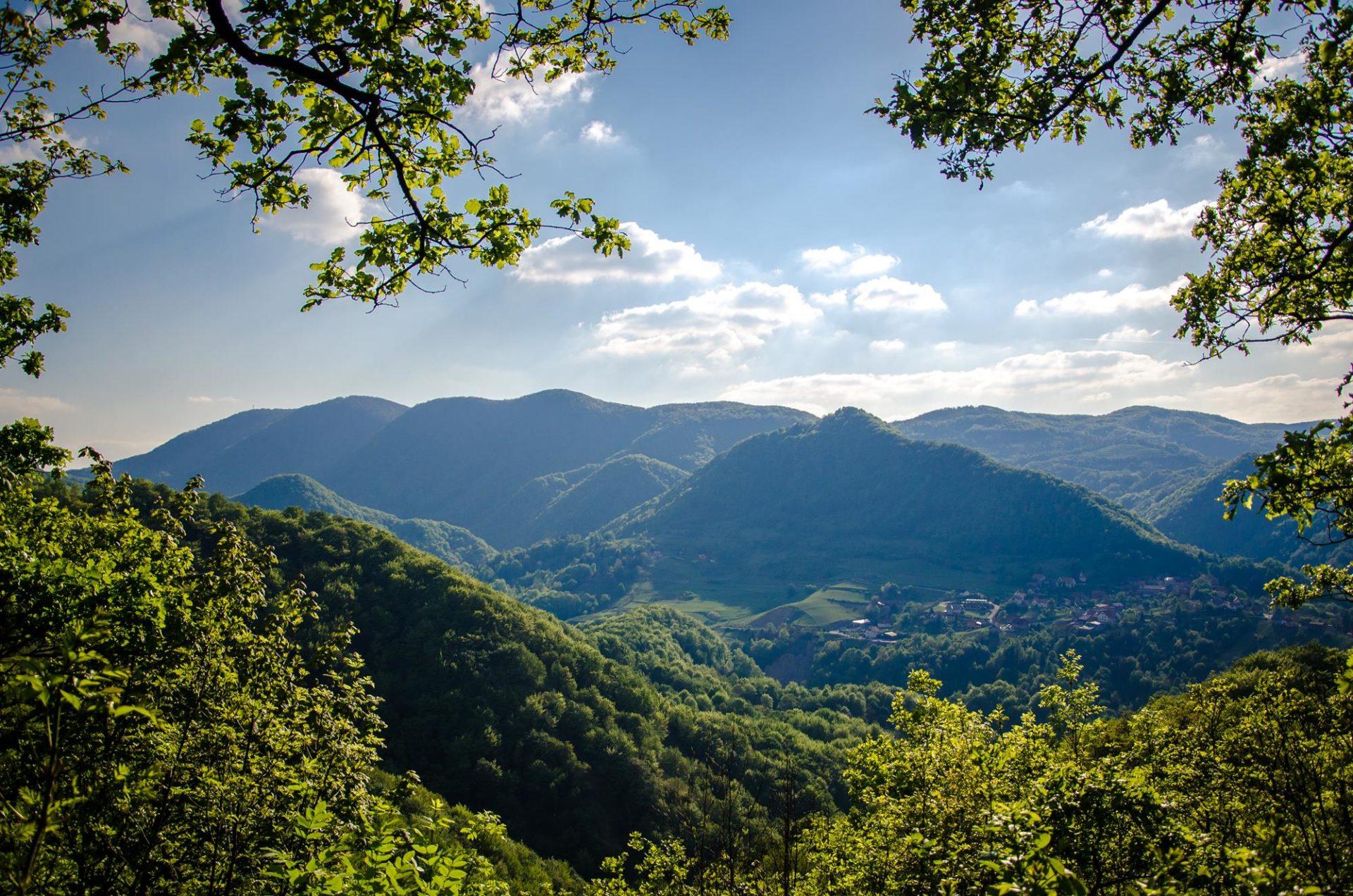 Park prirode Žumberak – Samoborsko gorje – mozaik stvoren iz prirode